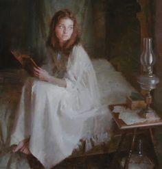 Catherine Morland thinking of Henry Tilney