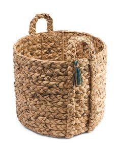 Large+Braided+Water+Hyacinth+Basket