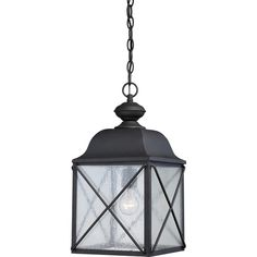 Wingate 1 Light Outdoor Hanging Lantern Reviews ❤ liked on Polyvore featuring home, outdoors, outdoor lighting, outside hanging lanterns, outdoor yard lights, outside yard lights and hanging lantern