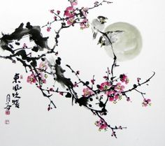 Kim, Kyung - Hyun Title: plum 1 original japanese art