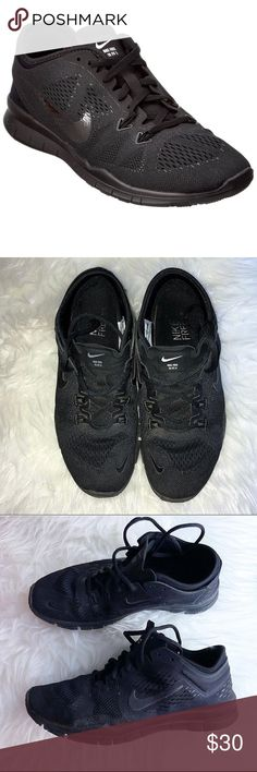 🖤 Nike Free Fit Tr 4.0 In great gently preowned condition! All black. Details in last picture. 💕 (first pic is a stock photo) Nike Shoes Athletic Shoes