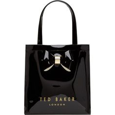 ec498db52d817 Buy Black Ted Baker Didicon Small Icon Shopper Bag from our Handbags