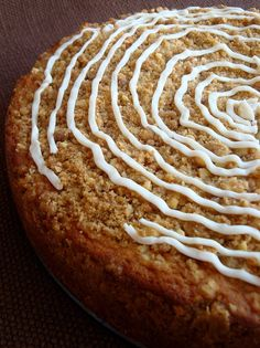 This peach coffee cake is impressive yet easy to make. Coffee cake with peach and buttermilk, plus a nice crumb topping on the cake and you can't miss.