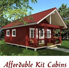 Tiny House   Small Cabin   Cabin Kits   Living Big Tiny House   Cabin Life Cheap Tiny House Kits, Cabin Kits For Sale, Best Tiny House, Modern Tiny House, Tiny House Cabin, Tiny Houses For Sale, Tiny House Design, Little Houses, Porch House Plans