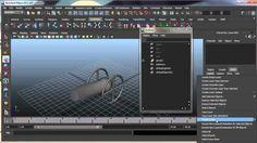 3D Autodesk Maya 032 Capas de animacion Layer Animation