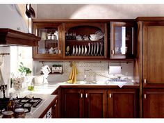 Our RD Department designed a new style kitchen cabinet with double sinks cabinet and glass doors design Name:Excellent American kitchen cabinet which is custom made Products details Features: Kitchen CabinetVC-KS-SO According to environmental prote Solid Wood Kitchen Cabinets, Solid Wood Kitchens, Kitchen Cabinet Styles, American Kitchen, Door Design, Glass Door, Double Vanity, Custom Made, China