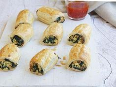 Spinach and Cheese Rolls recipe