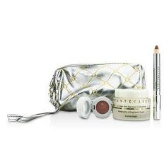 Skin Care Set: Neck Cream 50ml + Lip Potion 4.5g + Contour Fill 2.5g + Bag --3pcs+1bag