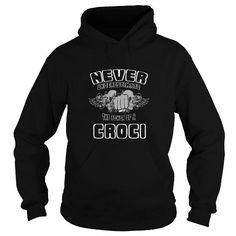 awesome CROCI Name Tshirt - TEAM CROCI, LIFETIME MEMBER