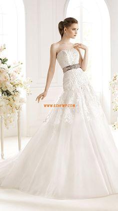 Eglise Sans bretelles Elégant & Luxueux Robes de mariée de luxe