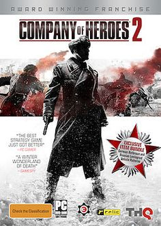 Company of Heroes 2 for Steam - In the world's darkest hour you are a commander of the Soviet Red Army, entrenched in brutal frontline warfare to free Mother Russia from the Enemy invaders. It is 1941 and the. News Games, Video Games, Company Of Heroes 2, Xbox, Playstation, Best Pc Games, Franchise Companies, Game Codes, Games To Buy
