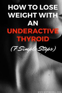 Losing weight when you have an underactive thyroid can be done successfully by consistently following key steps over time. This article covers the 7 fundamental steps required to successfully lose weight with an underactive thyroid