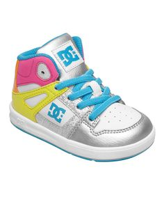 When it's time for a game of hoops or a flat-out foot race to the ice cream truck, make sure little ones are ready with these sneakers. A foam-padded tongue and heel collar add comfort, while the toe cap overlay provides durability to a great shoe.Elastic lace closureLeather upper