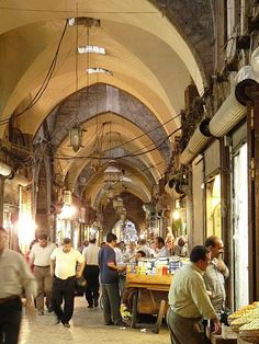 14.The Souk, Aleppo Old City, 4.57 PM, 18 May