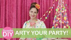 Today's episode is How To Arty Your Party! My tips & tricks to really arty your party and make it. Craft Corner, Christmas Crafts, Party, Diy, Bricolage, Parties, Do It Yourself, Homemade, Diys