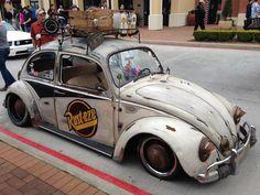 Bug Vw Bus, Volkswagen Beetle, Vw Rat Rod, Kdf Wagen, Rat Look, Vw Classic, Vw Vintage, Vw Beetles, Cool Cars