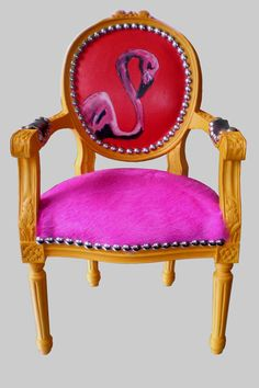 Jimmie Martin miniature flamingo chair