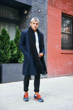 http://chicerman.com  billy-george:  Cool dude.  #streetstyleformen