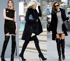 Botas Over The Knee ou Over Boots-mulher-plus-size-altas-e-magras