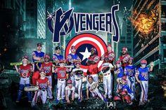 AAU Baseball  #travelingball #baseball  #photography #avengers Www.lafotographee.com Facebook.com/lafotographee  Cool baseball team photo picture