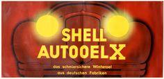 Shell Autoolex by Artist Unknown | Shop original vintage #posters online: www.internationalposter.com.
