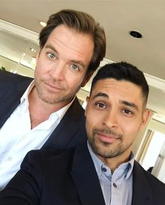 Wilmer Valderrama and Michael Weatherly (Nick and Tony) <3
