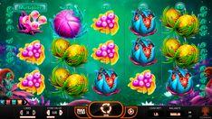 Fruitoids #Spielautomat von #YggdrasilGaming wartet schon auf seine Besucher, um Fruchtentany anzufangen! Lasst die Walzen drehen und fangt das Spiel zu geniessen!