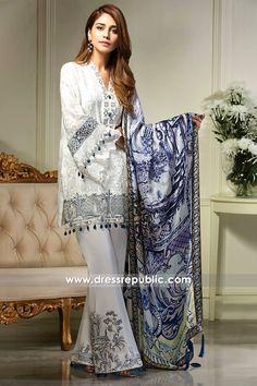 Anaya Luxury Eid Lawn 2017 - DRP6580
