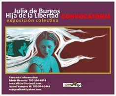 PUERTO RICO ART NEWS: Convocatoria para Exposición: Julia de Burgos, Hij...
