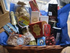Give gifts that get eaten. Hampers always put a smile on their face!