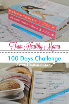 Days of Trim Healthy Mama I challenged myself to 100 days of Trim Healthy Mama and on-plan eating! I set goals and made a plan. Here's how to do a challenge with THM!Challenge Challenge may refer to: Trim Healthy Mama Diet, Trim Healthy Recipes, Get Healthy, Healthy Tips, Thm Recipes, Healthy Foods, Diet Foods, Healthy Breakfasts, Diet Meals