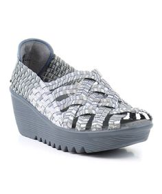 Loving this Silver & Gray Hope Wedge on #zulily! #zulilyfinds