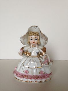 Vintage Porcelain Lefton Little Bo Peep Nursery by THMCollectables