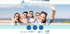 #sesamewebdesign #psds #ortho #responsive #blue #green #white #sans #circles #topnav #top-nav #full-width #fullwidth