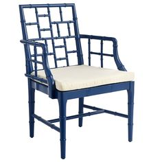 Wisteria Chinese Chippendale Chair (various colors) - really cute but not very big. Maybe to change up Matt's table in wine room?