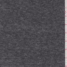 Smoke Black/Silver Metallic Jersey Knit - 36516 - Fabric By The Yard At Discount Prices