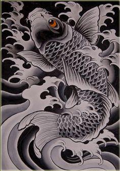 А-типичное чтиво - Карп кои. Значение татуировки
