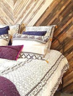 Enmore Embroidered Duvet | Pinned by topista.com