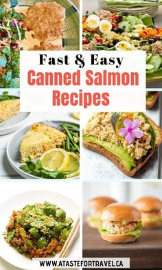 Discover a whole new world of flavour with these delicious canned salmon recipes. From chowder to salad to nachos, they're healthy, easy to make and delicious! #easyrecipe #salmon