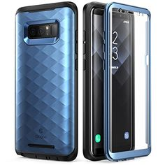 Galaxy Note 8 Case, Clayco [Hera Series] Full-body Rugged Case with Built-in Screen Protector for Samsung Galaxy Note 8 (2017 Release) - Blue  https://topcellulardeals.com/product/galaxy-note-8-case-clayco-hera-series-full-body-rugged-case-with-built-in-screen-protector-for-samsung-galaxy-note-8-2017-release/?attribute_pa_color=blue  Impact-resistant Polycarbonate outer shell Shock-absorbent TPU inner lining for added protection Front protective cover for Samsung Galaxy Note