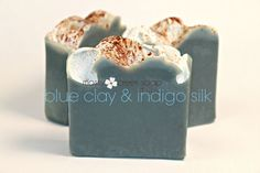 Patchouli Orange Indigo Silk Soap with Cambrian by MossyCreekSoaps, $5.95