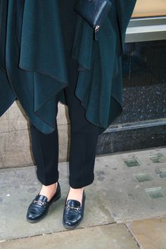 The New 'New Look' #50s #fifties #black #shoes #coat #formal #workwear #london #fashion