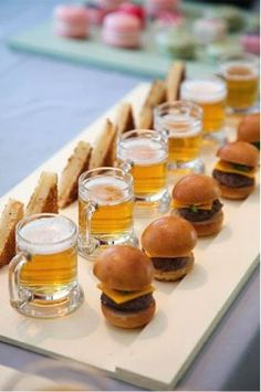 maybe a beer tasting party? Could be a good party for huby. 30th Party, 30th Birthday Parties, Beer Birthday Party, 30th Birthday Ideas For Men Surprise, Birthday Party Appetizers, Guy Birthday, 40th Party Ideas, 21 Party, Chef Party