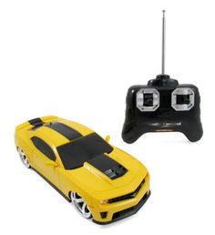 2012 Chevrolet Camaro ZL1 BumbleBee RC Remote Control Sports Car 1:24 Scale Model (Yellow) by GK Toys. $22.95. 2012 Chevrolet Camaro ZL1 BumbleBee, Stylish & Fast Introducing the High Powered 2012 Chevy Camaro ZL1 Radio Control Super Sports Car. Full function controls; go forward, reverse, stop, left & right steering. Realistic with detailed exterior and stylish. Working headlights & rear tail lights. Race around the kitchen, backyard or anywhere with real world car ...