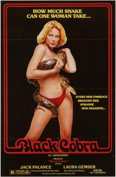 Black Cobra Movies Poster - 69 x 102 cm Free Hollywood Movies, Joe D Amato, Watch Hindi Movies Online, Jack Palance, Cobra, Watch Tv Shows, We Movie, Movie Poster Art, The Victim