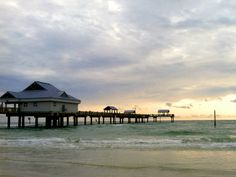 Pier 60 on the white sands of Clearwater Beach.