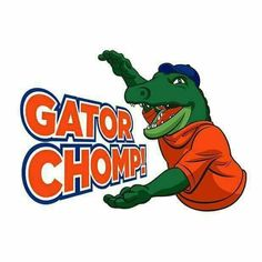 Gator chomp Fla Gators, Florida Gators Logo, Florida Gators Football, Sec Football, Football Memes, College Football, Florida Gators Wallpaper, Alligator Image, The Villages Florida