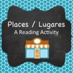 Spanish places reading activity - complete the calendar with Felipe's schedule according to what you read