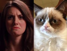 This is hilarious! Watch Alison Brie (from Community and Mad Men) do her best impressions of Internet memes!