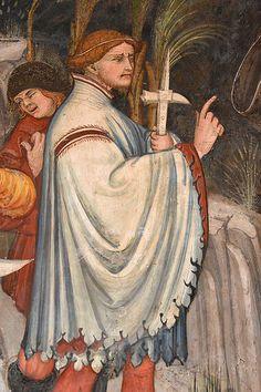Italian Renaissance, Renaissance Art, 14th Century Clothing, Mens Garb, Medieval Weapons, Medieval Costume, Medieval Clothing, 2d Art, Dark Night